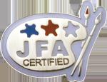フェイス&ボディペインティング技能検定2級 認定バッジ