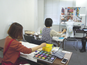 マタニティペイント(資格)認定講座・【福岡会場】開催報告 の画像