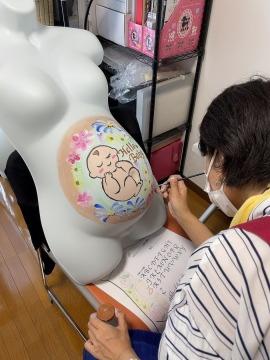 マタニティペイント資格認定講座_福岡